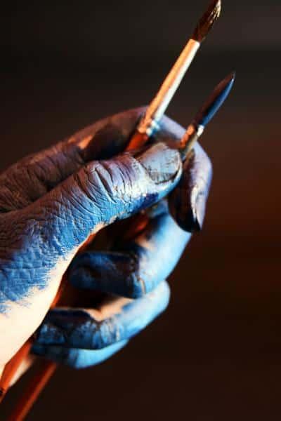 hands painter