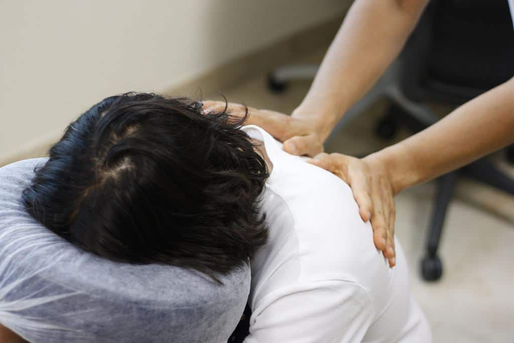 massage therapy chair massage
