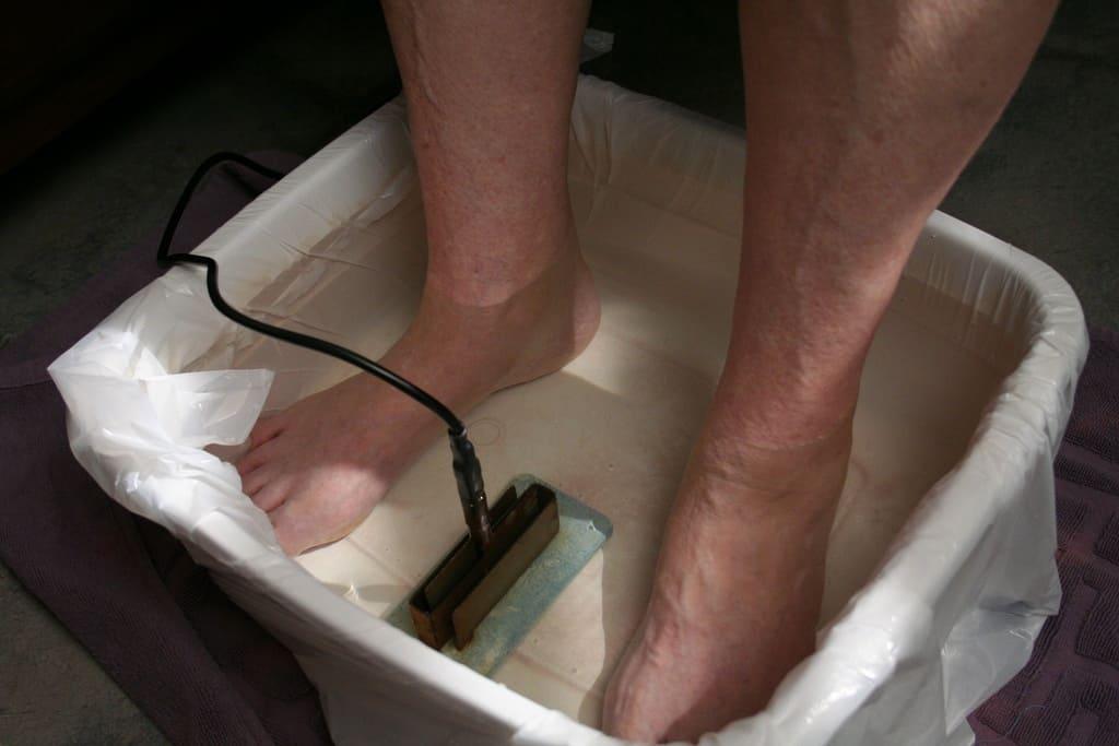 ionic foot detox bath spa