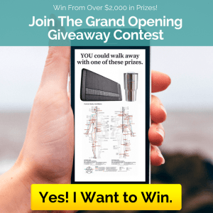 Grand Opening Giveawa Contest sidebar graphic