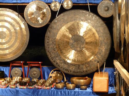 Gong Bath for Sound Healing