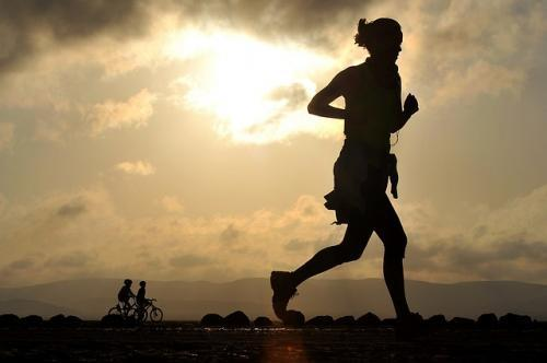 running is a healthy lifestyle habit